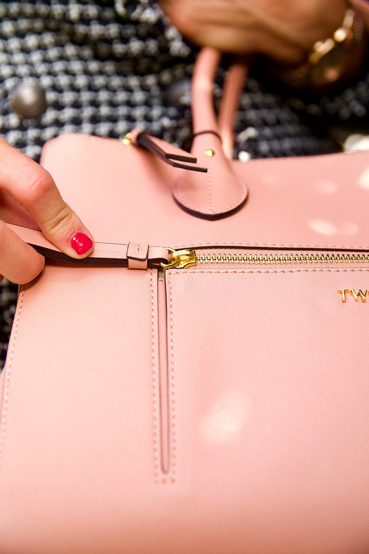 bolso rosa twinset